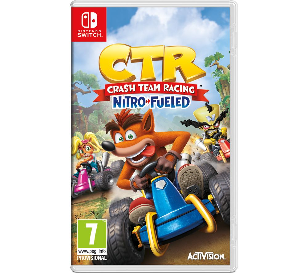 NINTENDO SWITCH Crash Team Racing - Nitro-Fuelled