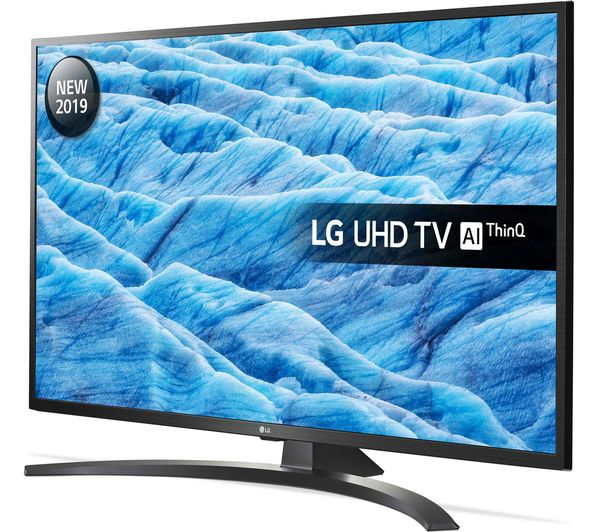 "LG 55UM7450PLA 55"" Smart 4K Ultra HD HDR LED TV with Google Assistant - Currys 2"