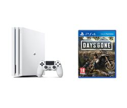 SONY PlayStation 4 Pro & Days Gone Bundle - 1 TB, White