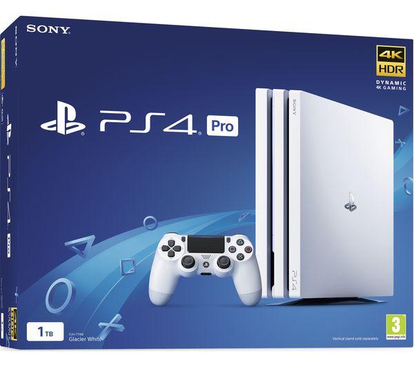 SONY PlayStation 4 Pro & Days Gone Bundle - 1 TB, White