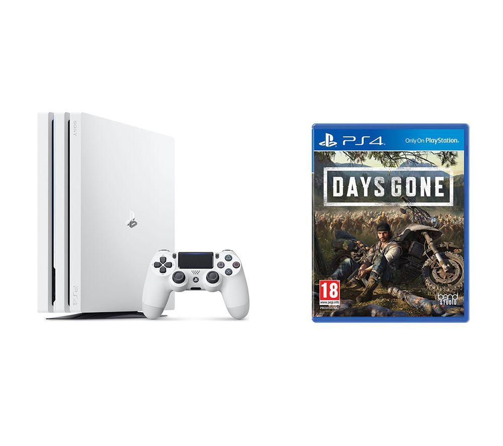 SONY  PlayStation 4 Pro & Days Gone Bundle - 1 TB, White, White