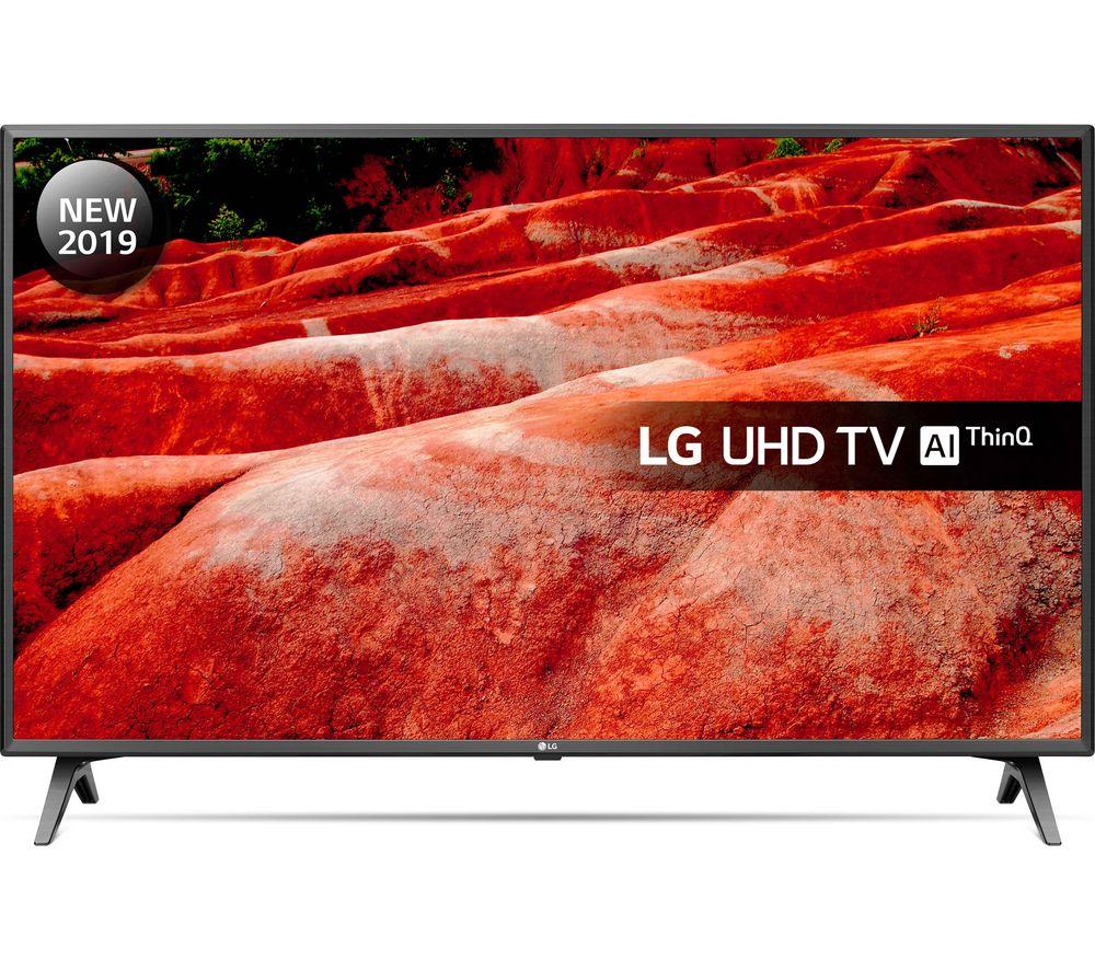 """LG 55UM7510PLA 55"""" Smart 4K Ultra HD HDR LED TV with Google Assistant"""
