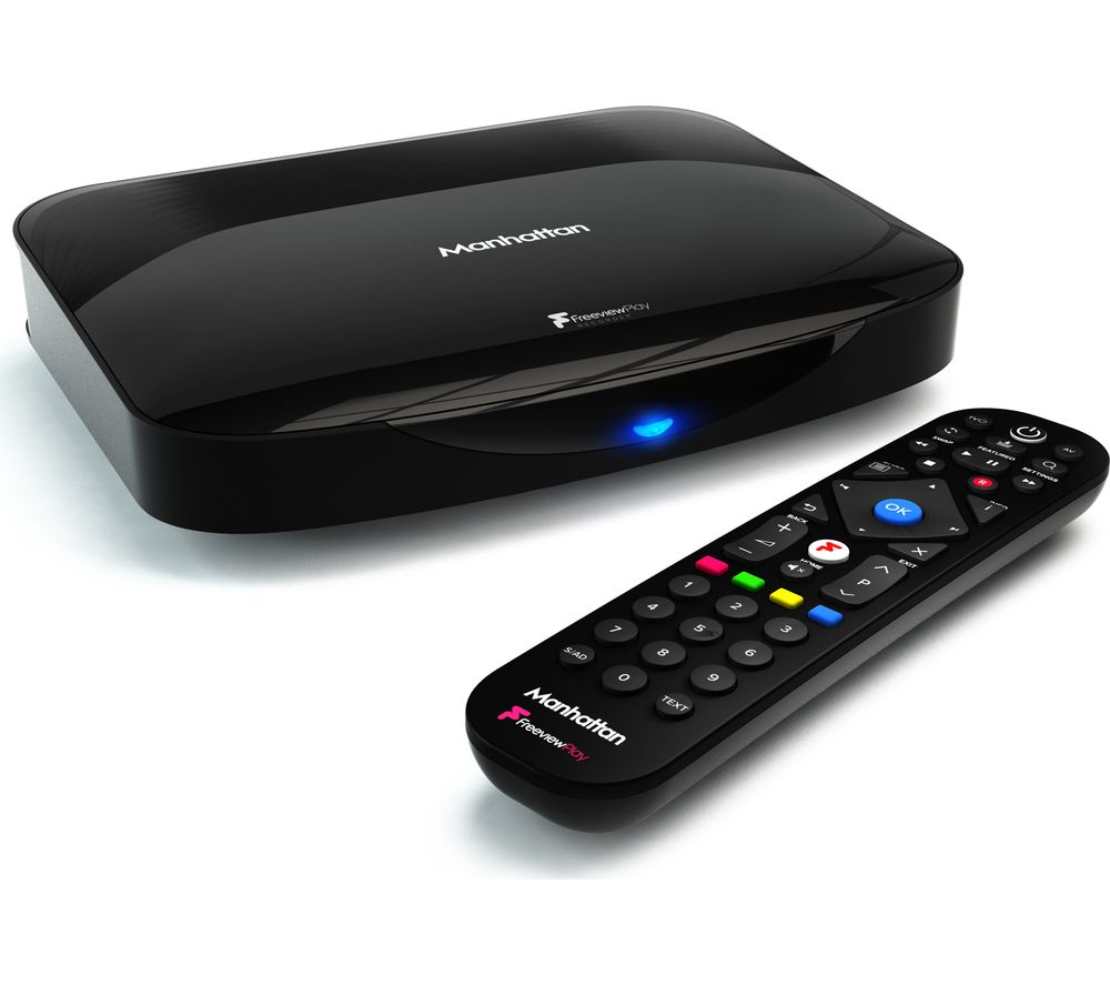 Image of MANHATTAN T3-R Freeview Play Smart 4K Ultra HD Digital TV Recorder - 1 TB