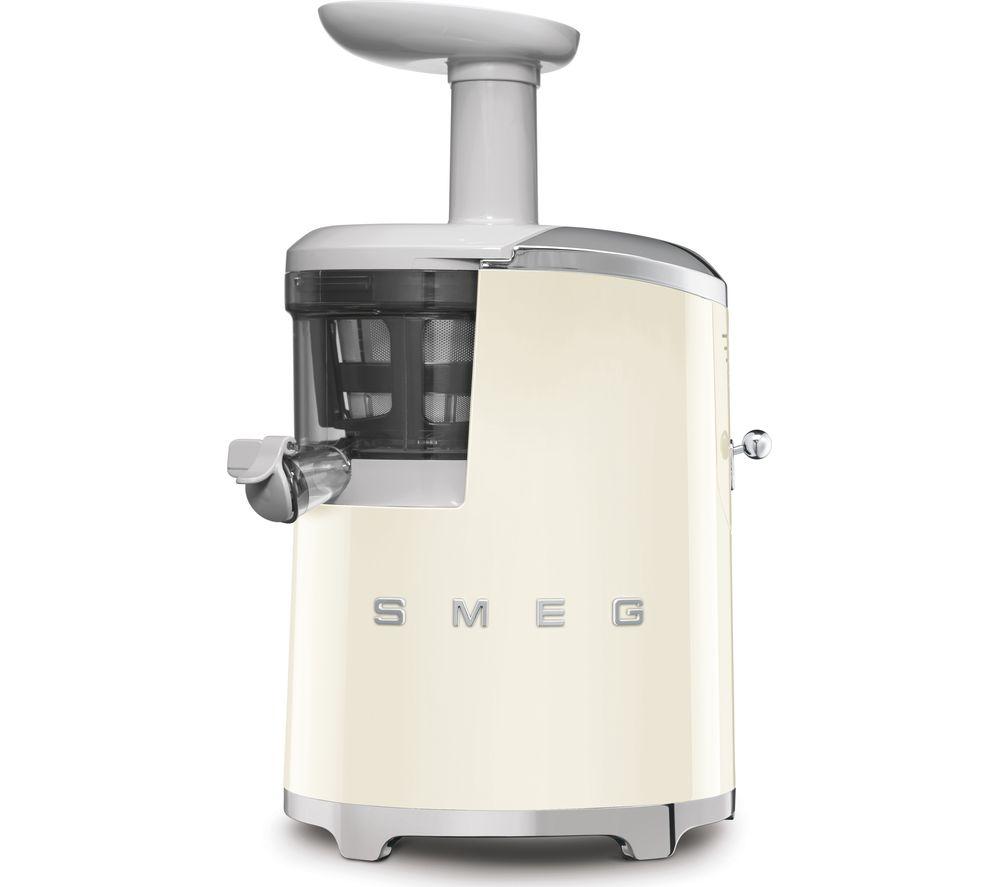 SMEG 50's Retro Style SJF01CRUK Juicer - Cream