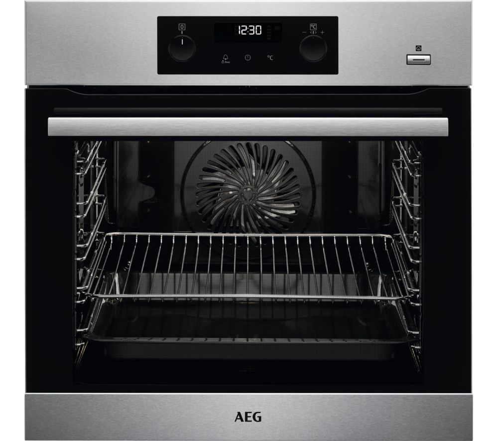 AEG BPS356020M Electric Oven - Stainless Steel, Stainless Steel