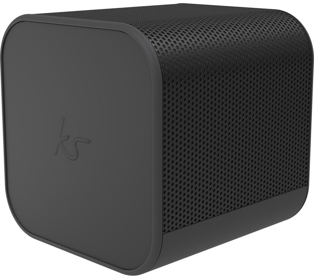 BoomCube Portable Bluetooth Speaker - Black, Black
