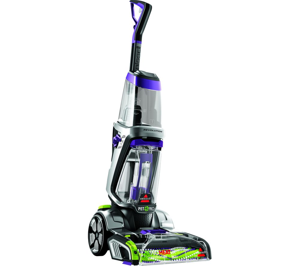 ProHeat 2X Revolution Pet Pro Upright Carpet Cleaner - Purple