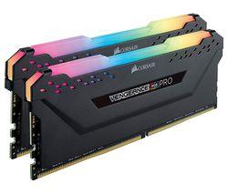 Vengeance Pro RGB DDR4 3200MHz PC RAM - 8 GB x 2