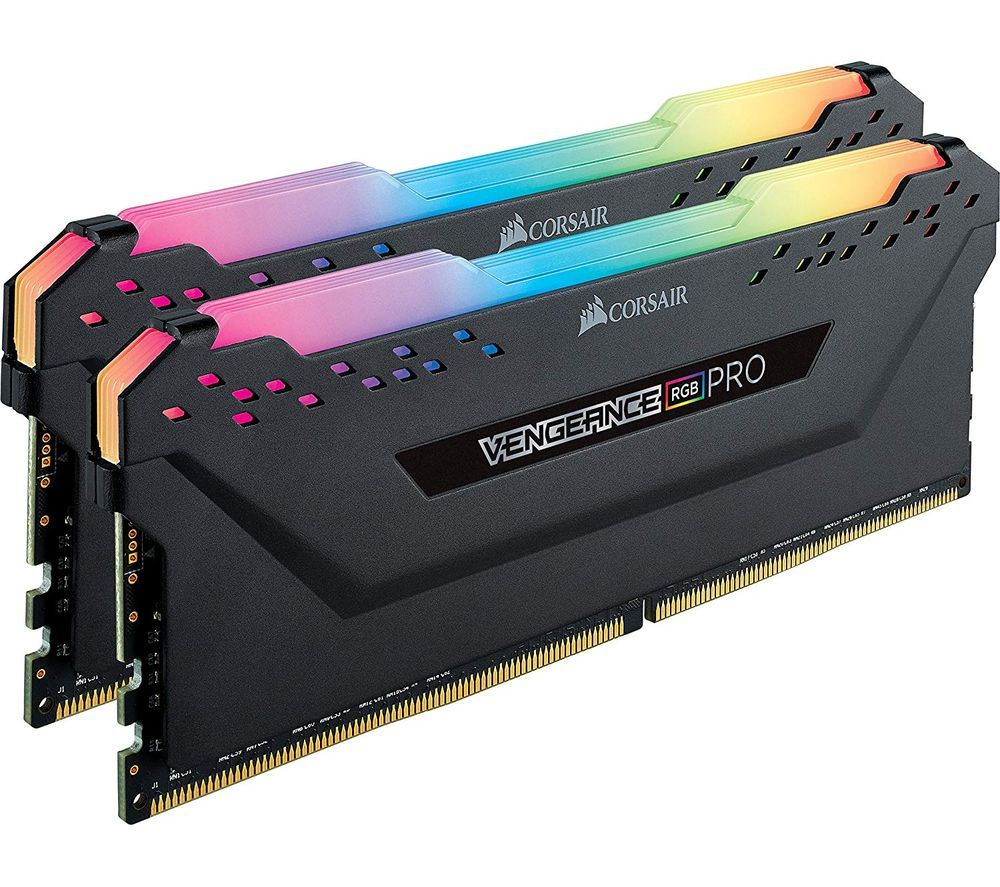 Image of Vengeance Pro RGB DDR4 3200MHz PC RAM - 8 GB x 2