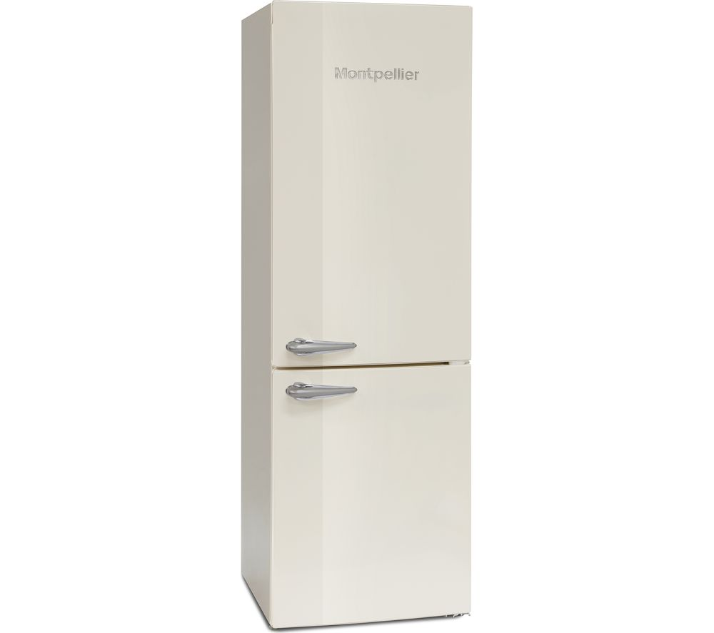 MONTPELLIER MAB385C 60/40 Fridge Freezer – Cream, Cream