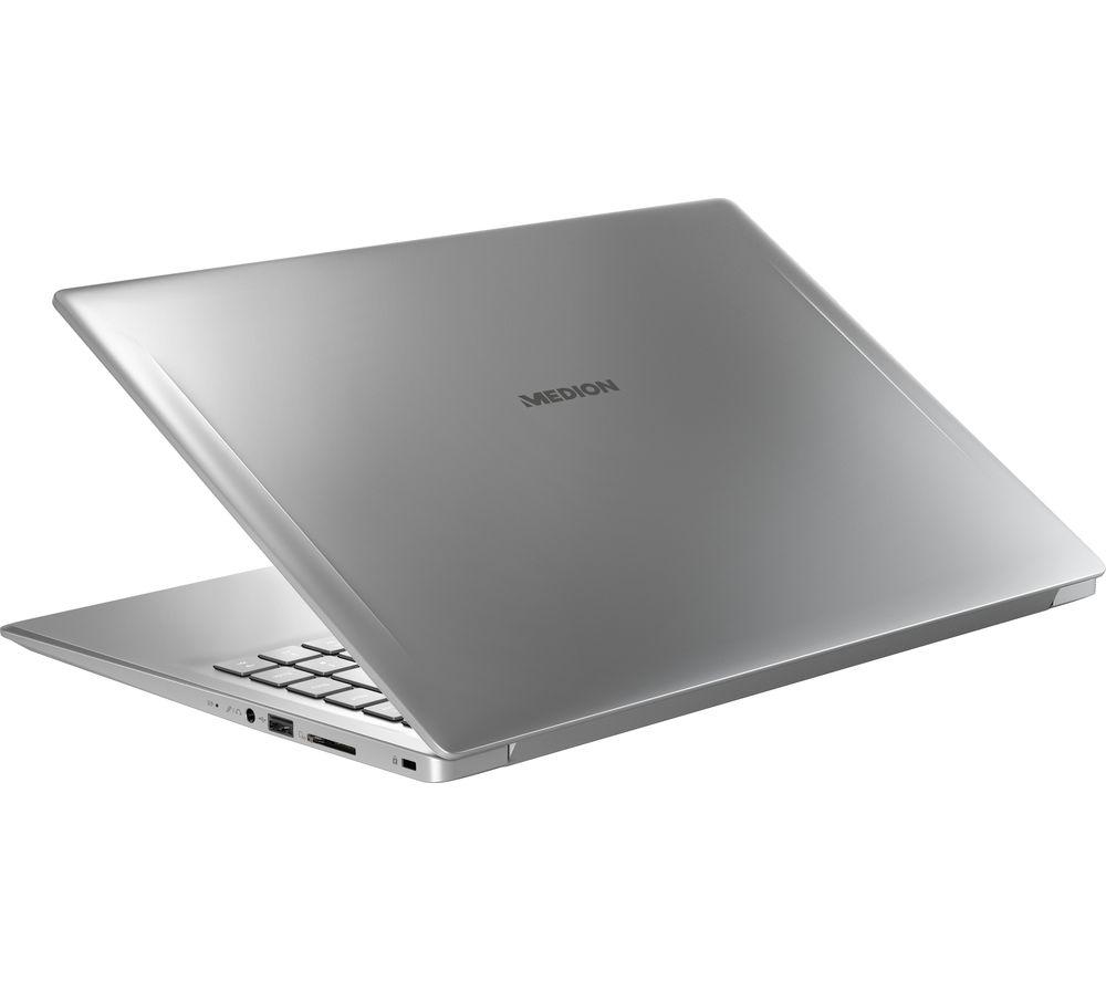 "MEDION AKOYA P6445 15.6"" Laptop - Intel® Core™ i5, 1 TB HDD & 128 GB SSD, Silver"