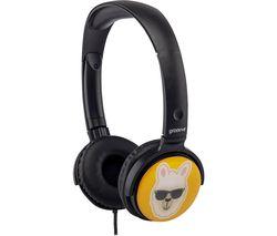 GROOV-E GV-EMJ18 EarMOJI's Kids Headphones - Llama