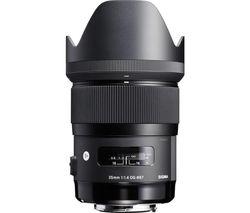 35 mm f/1.4 DG HSM A Standard Prime Lens - for Nikon