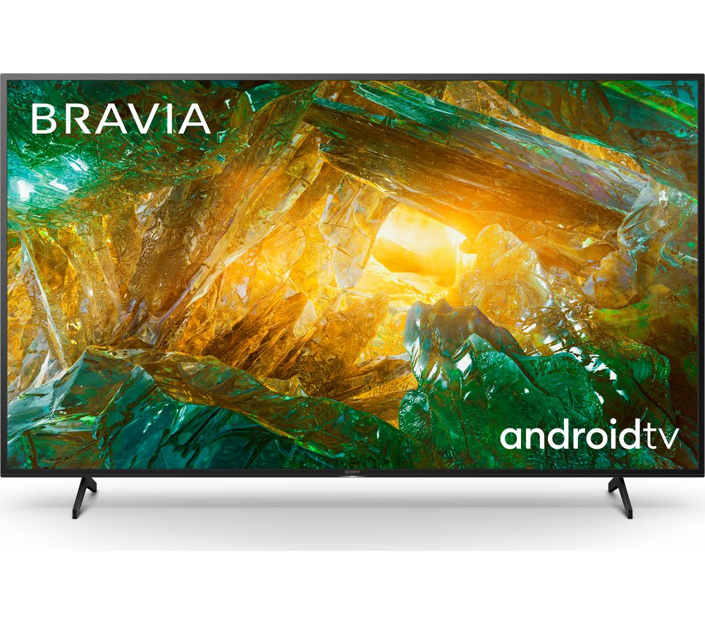 "Image of 49"" SONY BRAVIA KD49XH8096BU Smart 4K Ultra HD HDR LED TV with Google Assistant, Blue"