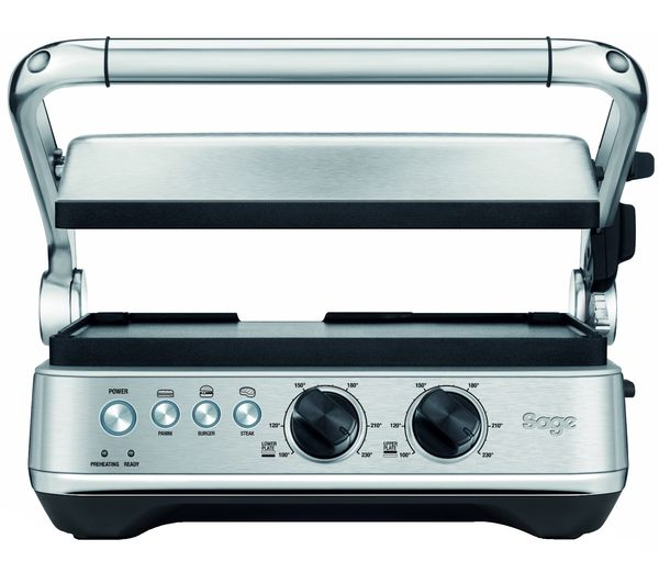 Image of SAGE BBQ & Press SGR700BSS Grill - Brushed Stainless Steel
