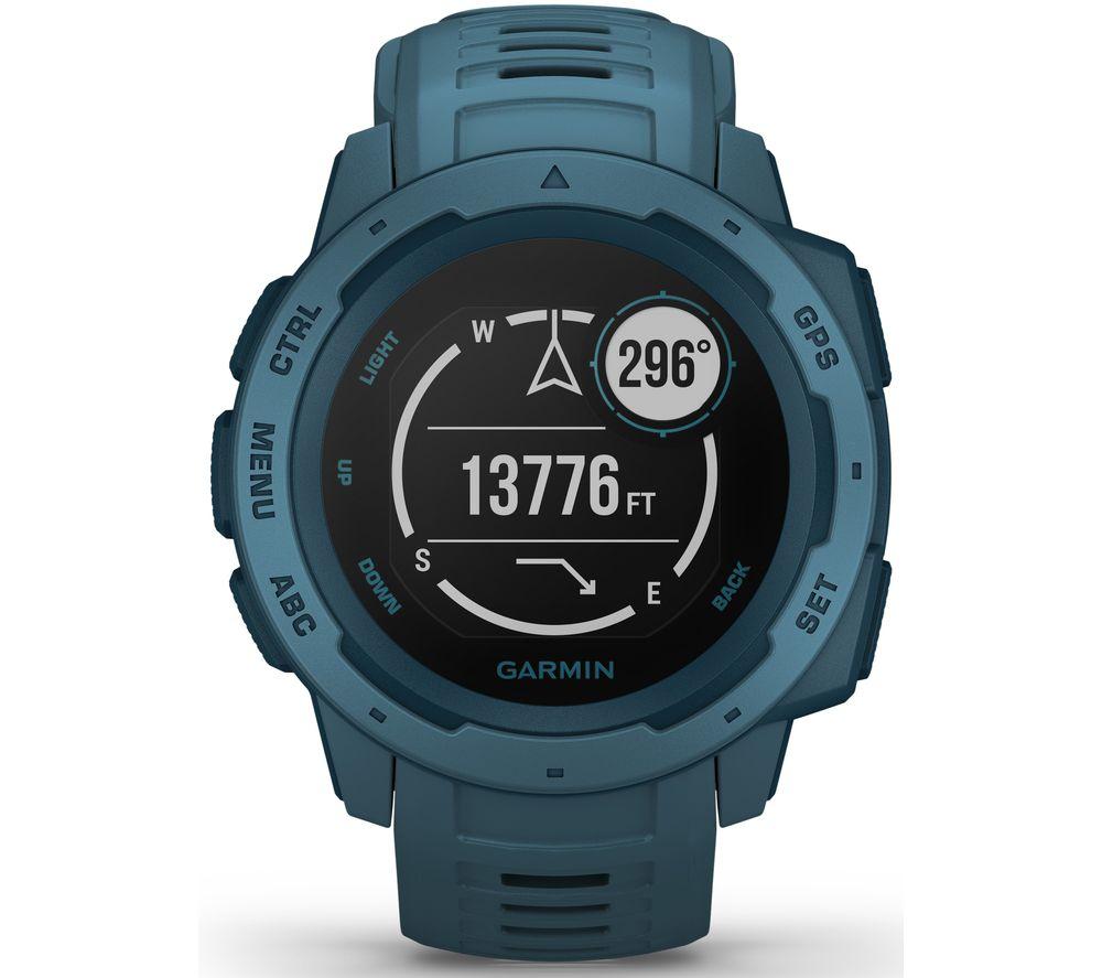 GARMIN Instinct Smartwatch - Blue, Blue