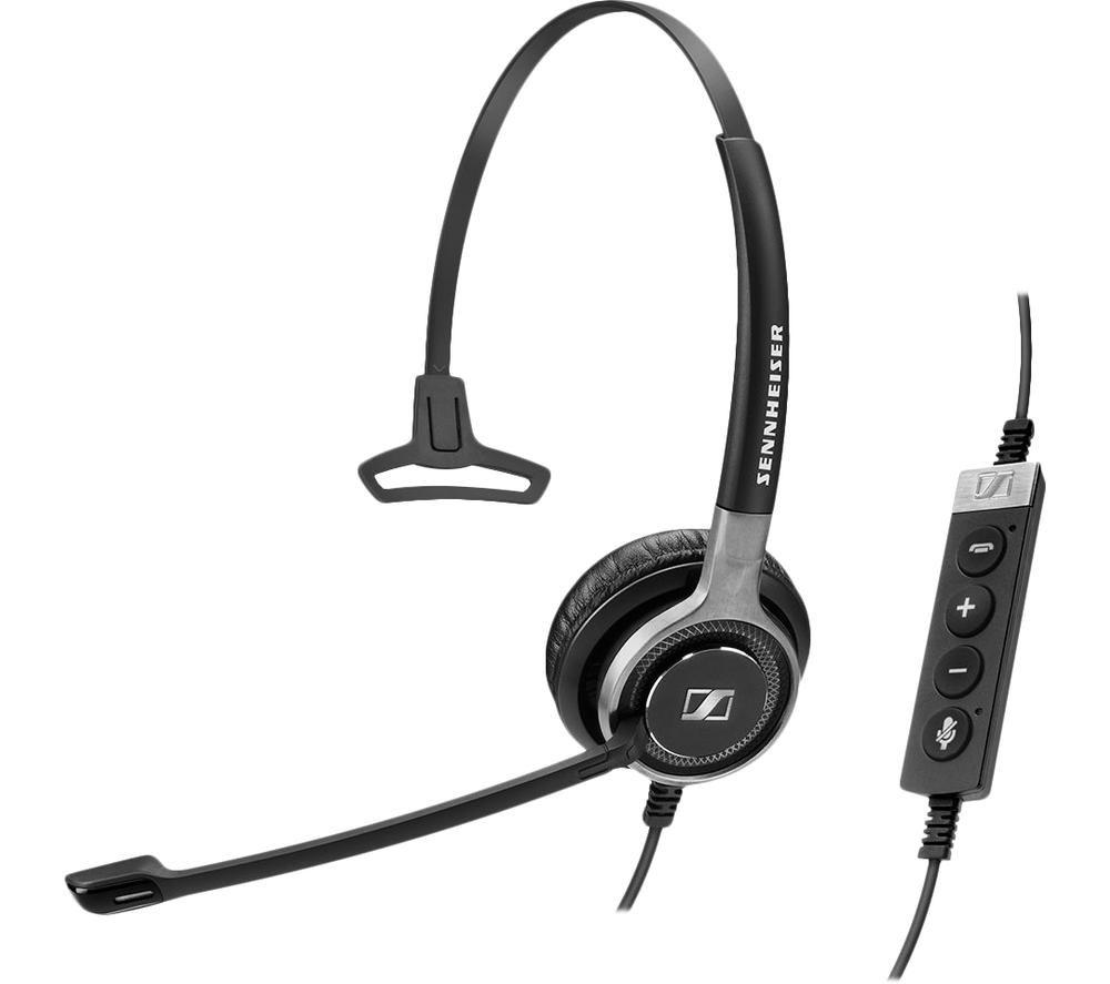 Image of SENNHEISER Century SC 630 USB ML Headset - Black & Silver, Black