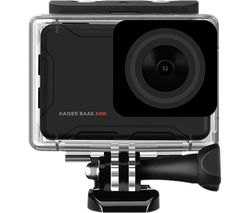 X450 4K Ultra HD Action Camera - Black