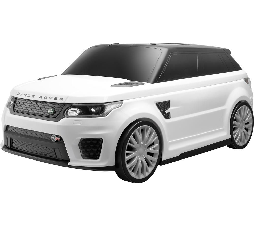 TOYRIFIC TY6108WH Vroom Range Rover Sport SVR Ride-on Suitcase - White