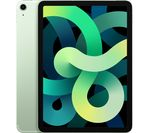 £709, APPLE 10.9inch iPad Air Cellular (2020) - 64 GB, Green, iPadOS, Liquid Retina display, 64GB storage: Perfect for apps / photos / videos / games, Battery life: Up to 9 hours, Compatible with Apple Pencil (2nd generation),