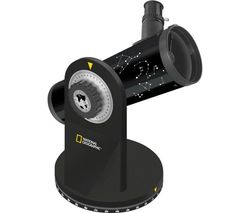 76/350 Compact Reflector Telescope - Black