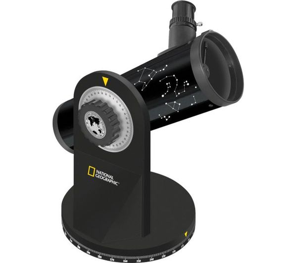 Image of NAT. GEOGRAPHIC 76/350 Compact Reflector Telescope - Black