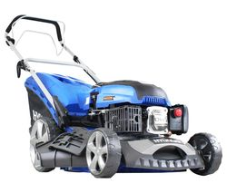 HYM460SP Cordless Rotary Lawn Mower - Blue