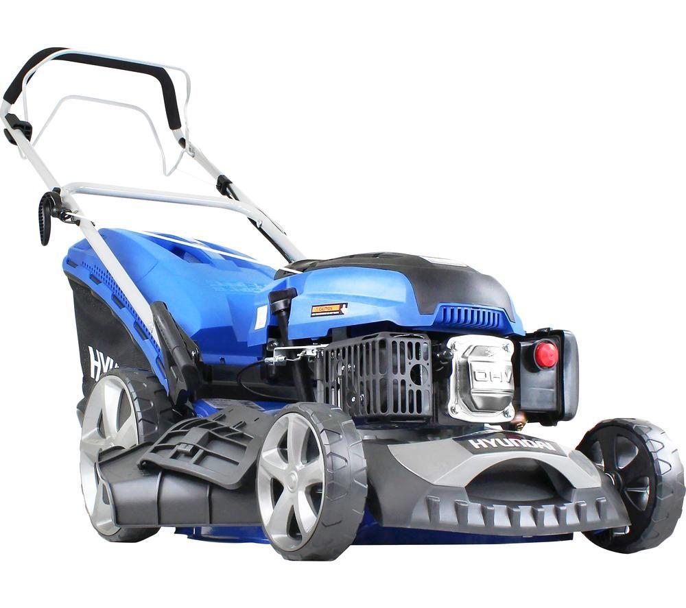 HYUNDAI HYM460SP Cordless Rotary Lawn Mower - Blue