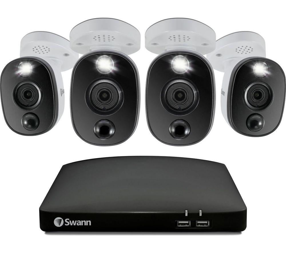SWANN SWDVK-856804WL-EU 8-channel 4K Ultra HD DVR Security System - 1 TB, 4 Cameras