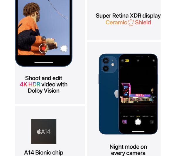 Apple iPhone 12 Mini - 128 GB, Blue 7