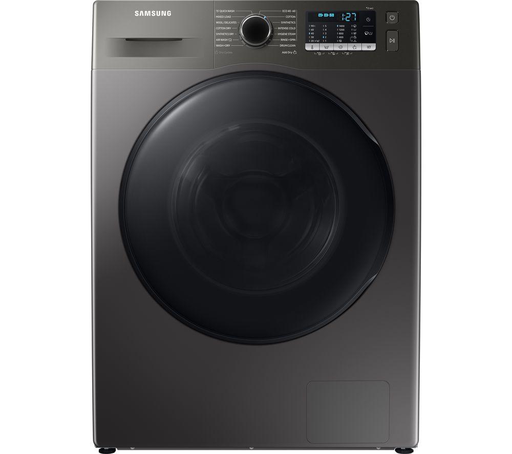 SAMSUNG Series 5 ecobubble WD90TA046BX/EU 9 kg Washer Dryer  - Graphite