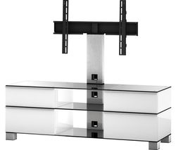 ESSENTIALS MD8240 1400 mm TV Stand with Bracket – White
