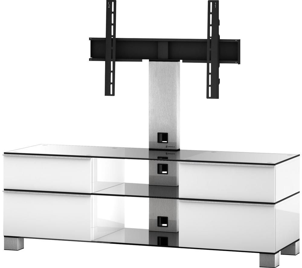 CONNECTEDE ESSENTIALS MD8240 1400 mm TV Stand with Bracket – White