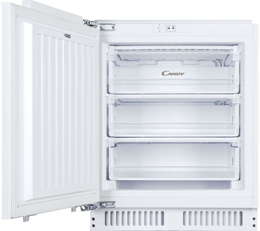 CANDY CFU 135 NEK/N Integrated Undercounter Freezer - Fixed Hinge