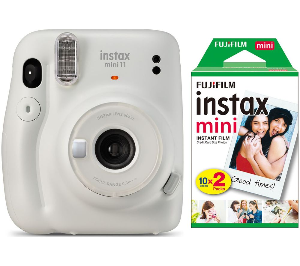 Click to view product details and reviews for Instax Mini 11 Instant Camera 20 Shot Instax Mini Film Pack Bundle Ice White White.