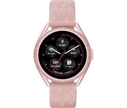 MKGO Gen 5E MKT5116 Smartwatch - Pink, Silicone Strap