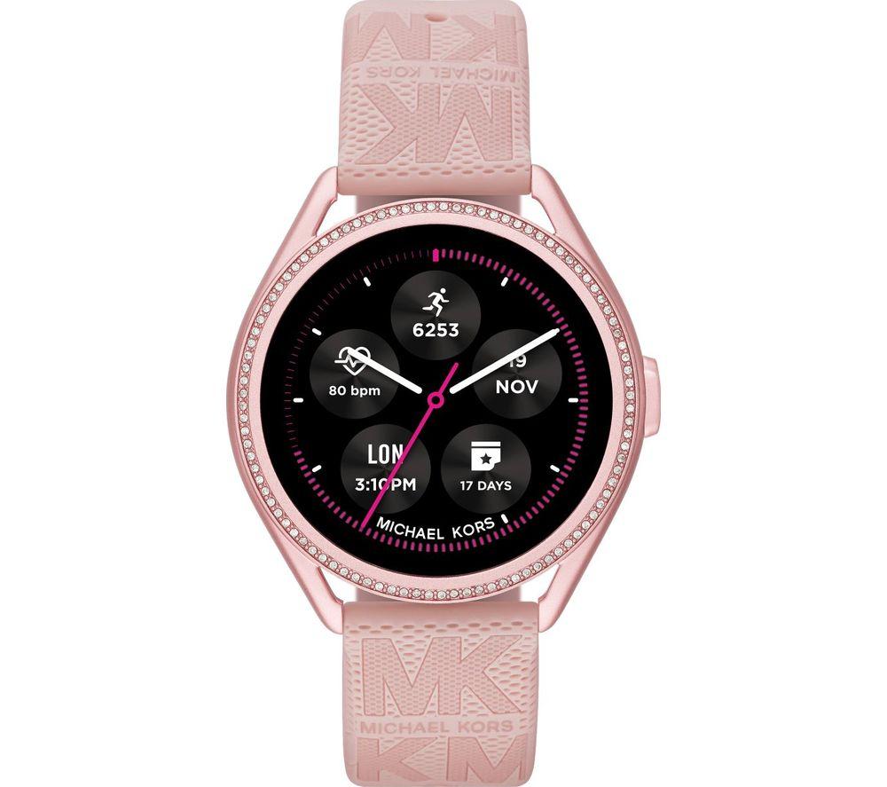 MICHAEL KORS MKGO Gen 5E MKT5116 Smartwatch - Pink, Silicone Strap