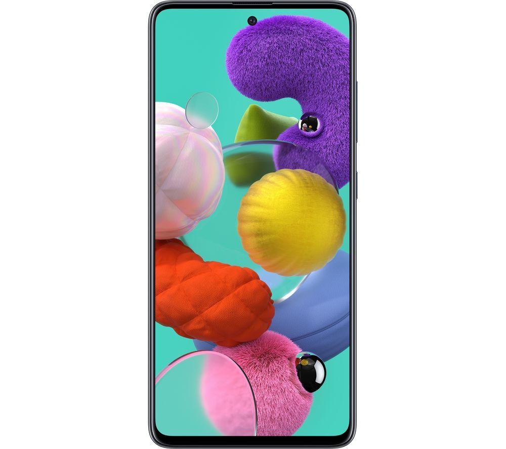 SAMSUNG Galaxy A51 - 128 GB, Black