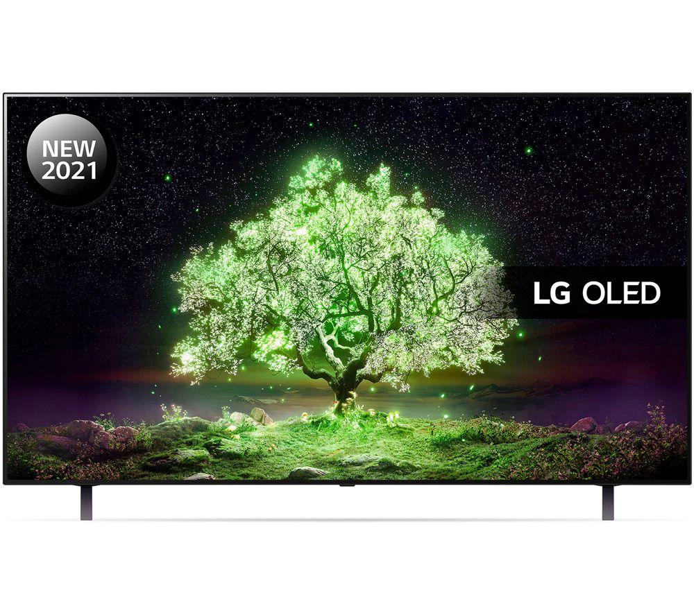 "LG OLED48A16LA 48"" Smart 4K Ultra HD HDR OLED TV with Google Assistant & Amazon Alexa"