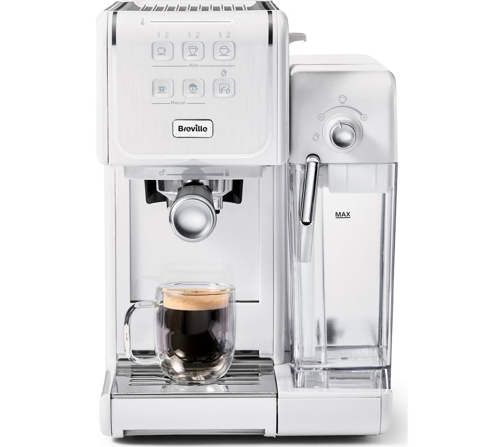 BREVILLE One-Touch CoffeeHouse II VCF147 Coffee Machine - White