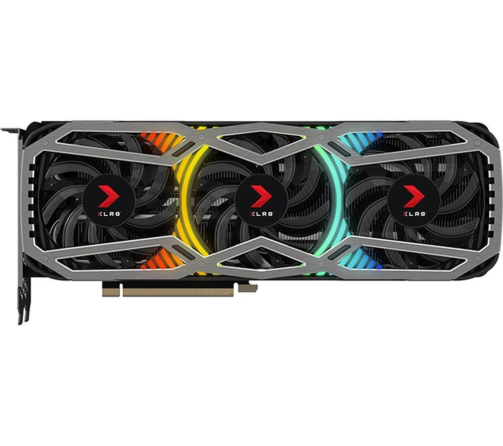 PNY GeForce RTX 3070 Ti 8 GB XLR8 Gaming REVEL Edition Graphics Card