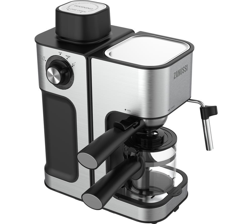 ZANUSSI ZES-485 Coffee Machine - Silver