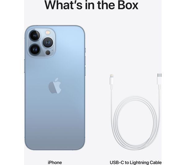 Apple iPhone 13 Pro Max - 1 TB, Sierra Blue 5