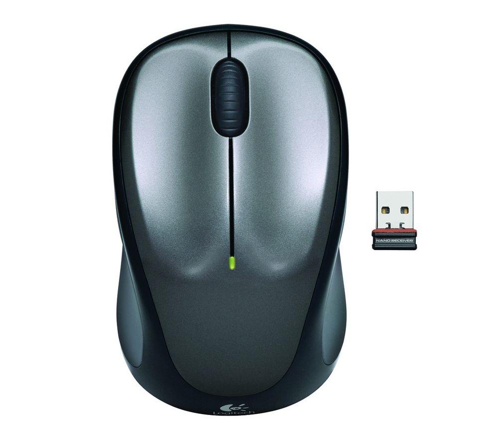 LOGITECH M235 Wireless Optical Mouse - Grey
