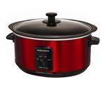 MORPHY RICHARDS 48702 Sear and Stew Slow Cooker - Red
