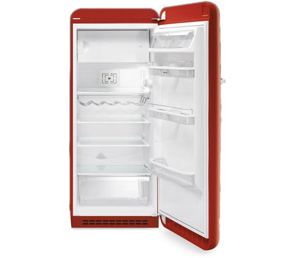 Buy Smeg Fab28qr1 Tall Fridge Red Free Delivery Currys