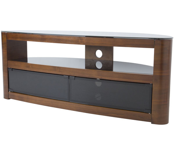 Image of AVF Burghley 1250 mm TV Stand - Walnut