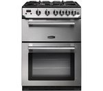 RANGEMASTER Professional 60 Gas Cooker - Stainless Steel