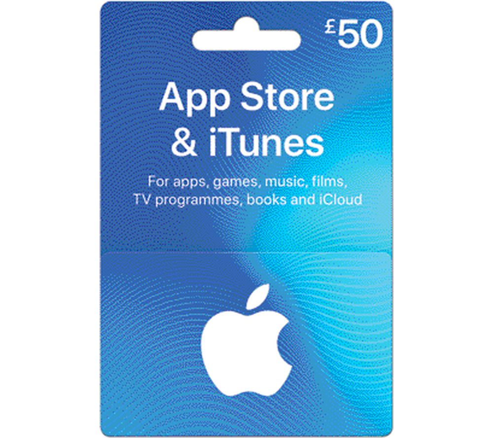 Image of ITUNES £50 iTunes Card