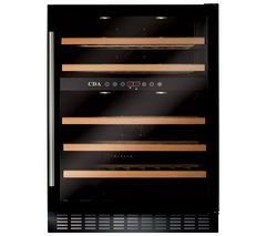 CDA FWC603BL Wine Cooler - Black